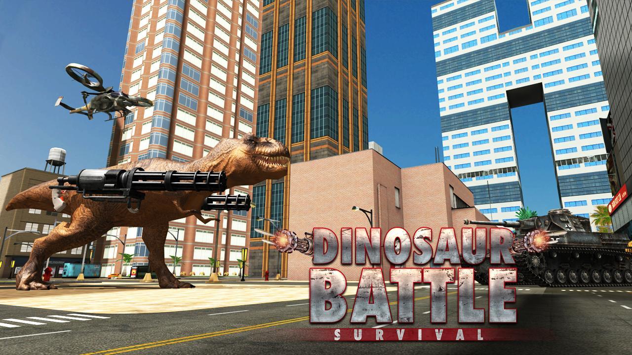Dinosaur War - BattleGrounds screenshot 1