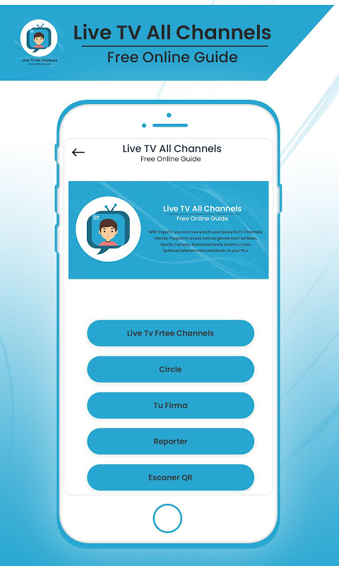 Live TV All Channels Free Online Guide New Update Download
