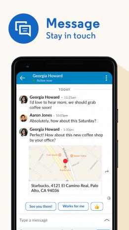 LinkedIn Dating app Android Speed rencontres événements à Oxford