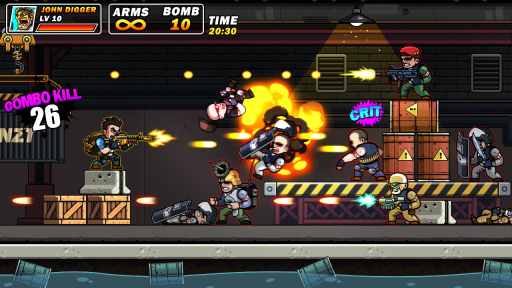 Metal Commando - Squad Metal Shooter screenshot 1