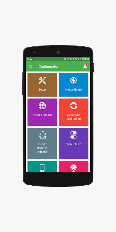 Configurator for Kodi - Complete Kodi Setup Wizard screenshot 1