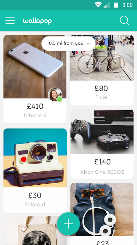 Wallapop - Buy & sell nearby screenshot 1