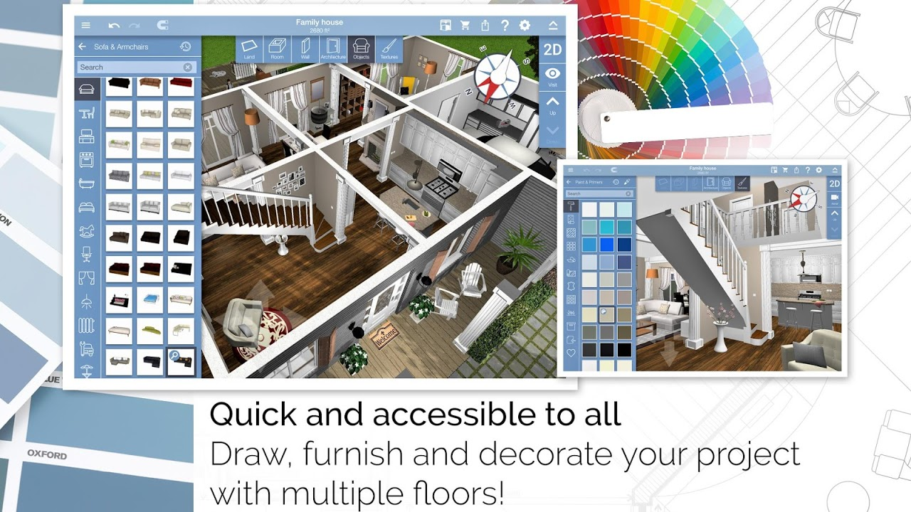 ... Home Design 3d Freemium Screenshot 3 ...