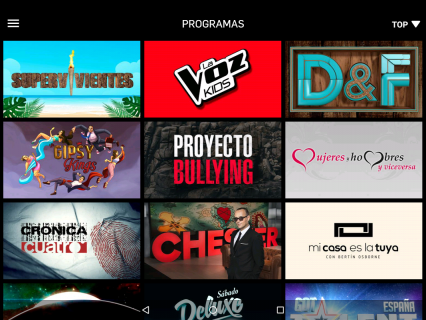 Mitele - TV a la carta 5.1.3 Descargar APK para Android - Aptoide