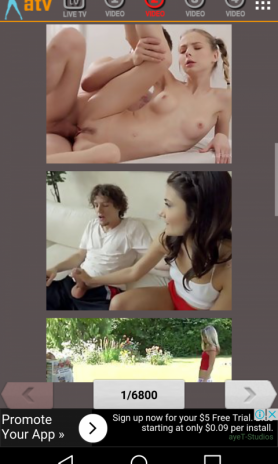 ... atv adult tv for android screenshot 4 ...