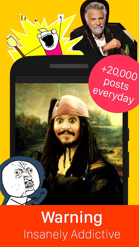 9GAG: Funny gifs, pics, fresh memes & viral videos screenshot 1