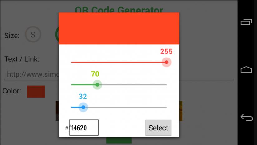 QR Code Generator Revolution 1 0 2 Загрузить APK для Android