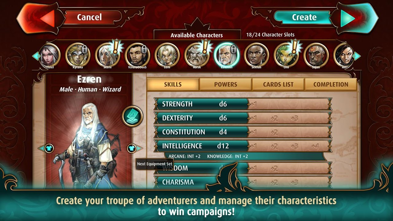 Pathfinder Adventures: a Roleplaying Card Game screenshot 2