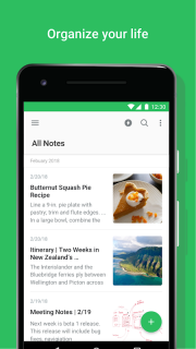 Evernote - stay organized. screenshot 1
