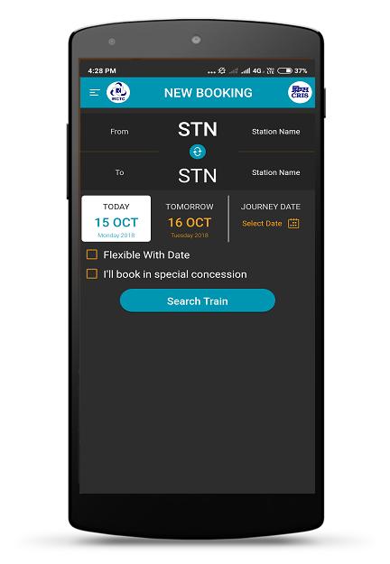 IRCTC Rail Connect screenshot 1