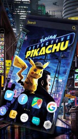 Pokémon Detective Pikachu Launcher Wallpaper 10 Descargar