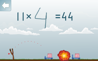 Math Shot Screen