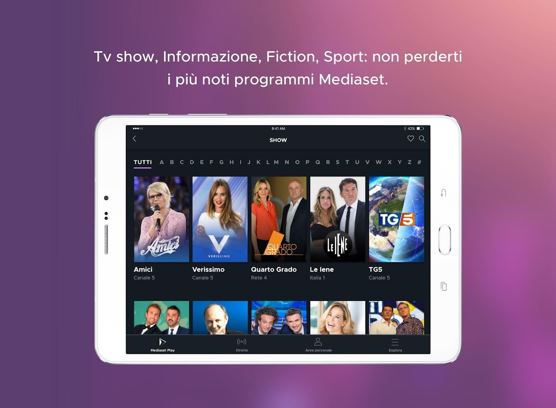 Mediaset italia due online dating