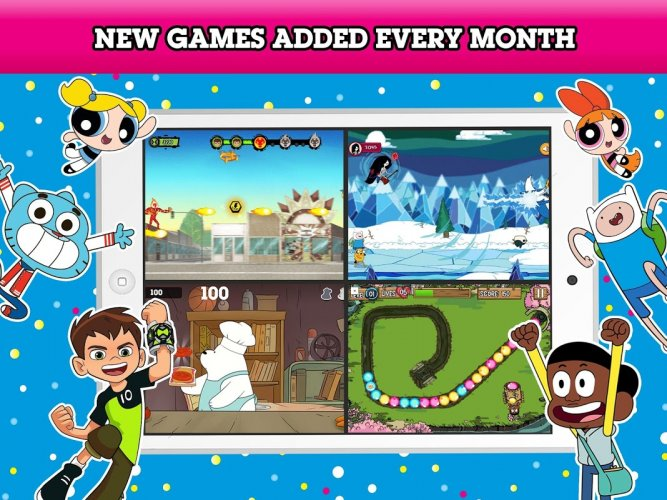 Cartoon Network Gamebox Free Games Every Month 2 0 70 Download Android Apk Aptoide