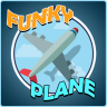 Funky Plane Icon