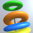 Hoop Fun Puzzle 3D