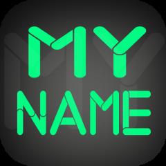 my name wallpaper text icon