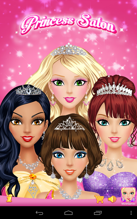 Princess Salon screenshot 1