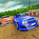 VR Car race dirt drift - VR Racer- VR Games