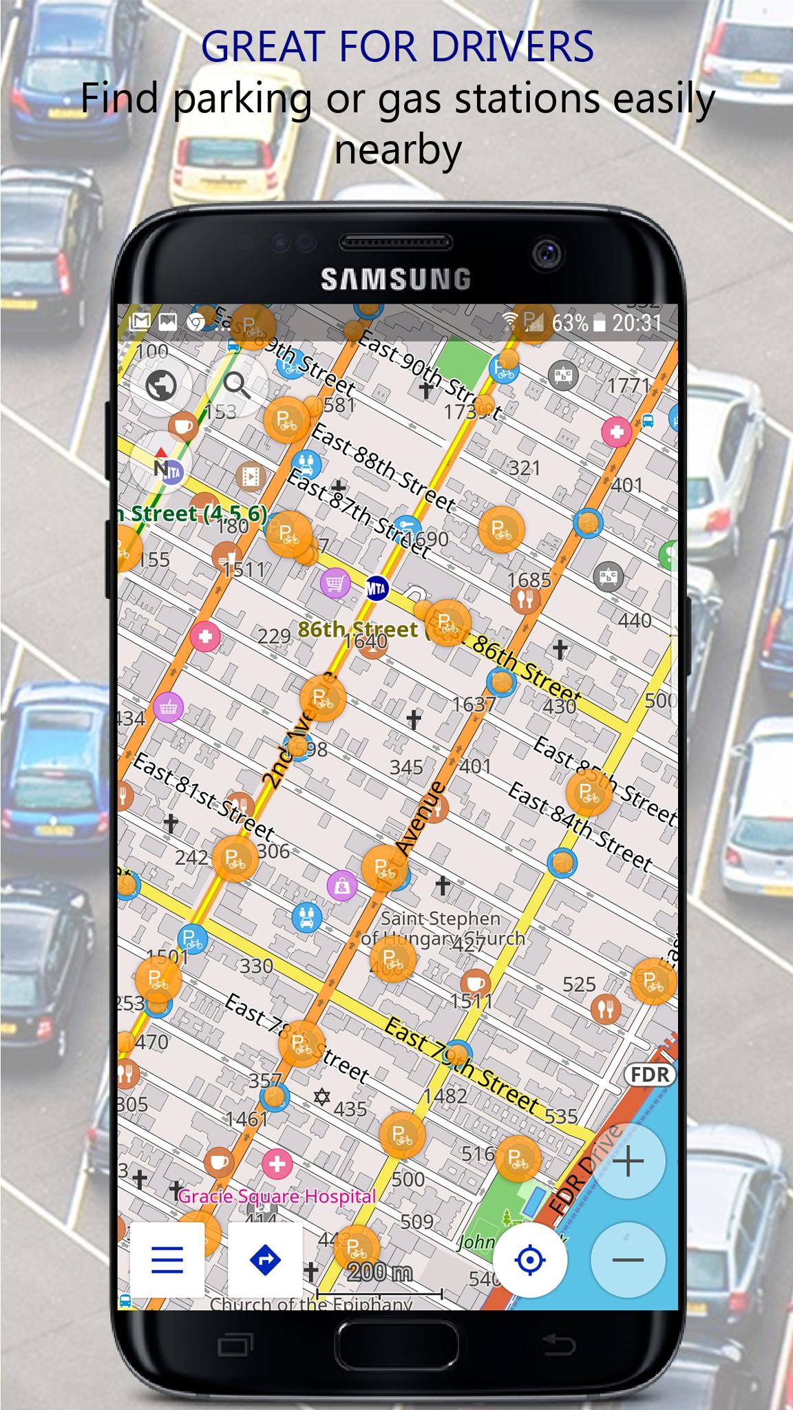 Navigator PRO: Offline GPS Maps screenshot 5