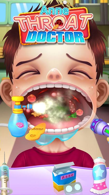 Crazy Throat Doctor screenshot 1