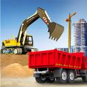 ville construction sim: chariot élévateur camion