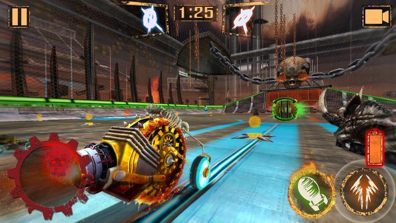Bola de Foguete - Rocket Car Ball screenshot 2