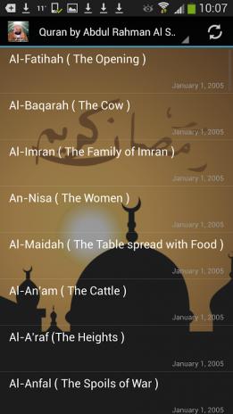 Audio Quran by Abdul Rahman Al Sudais 1 0 Baixar APK para
