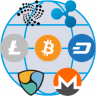 Cryptocurrency Table Icon