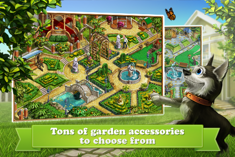 ... Gardenscapes Screenshot 8 ...
