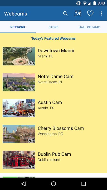 Webcams screenshot 1