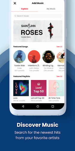 Lomotif: Social Video Platform screenshot 2