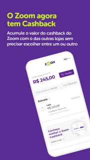 Zoom - Comprar com cashback screenshot 2