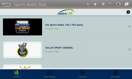 Sports Radio Stations 32 0 Download APK for Android - Aptoide