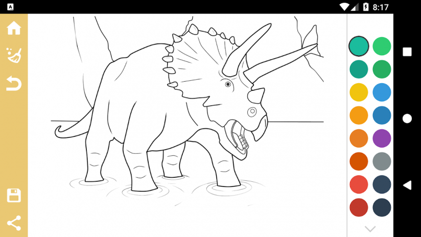 Best Dinosaur Coloring Book Screenshot 7