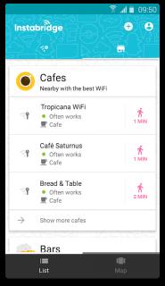 Instabridge - Free WiFi screenshot 5