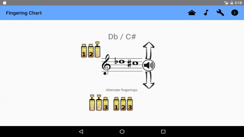 Trumpet Fingering Chart 2.4 Download APK for Android - Aptoide