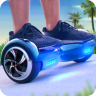 Hoverboard Surfers 3D Icon