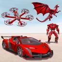 Drone Robot Car Transforming Game– Car Robot Games