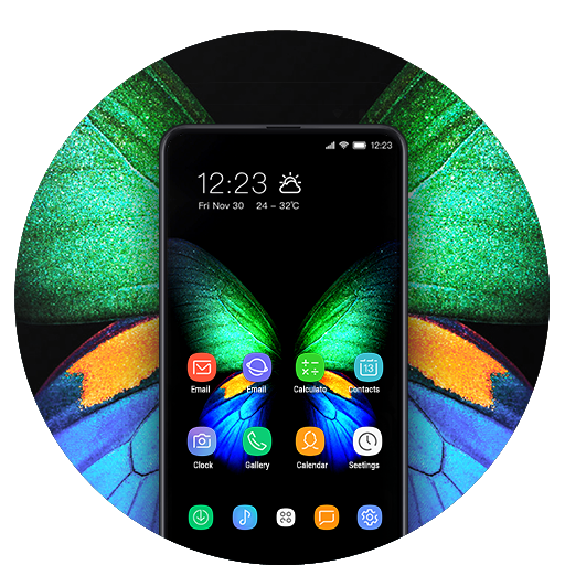 Theme for galaxyfold changeyour smartphone FREE