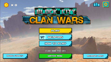 Block City Clan Wars Screen