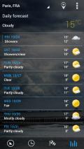 Sense Flip Clock & Weather Screenshot