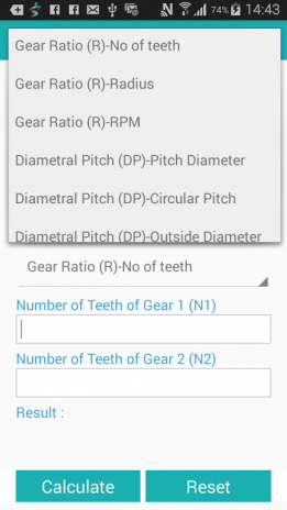 Gear Design Calculator 1 0 Download APK for Android - Aptoide