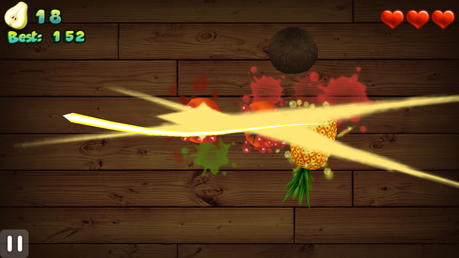 Fruit Cut 3D screenshot 2