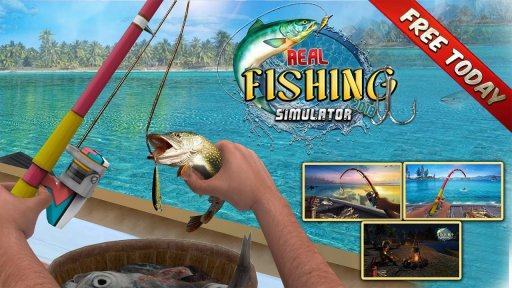 Reel Fishing Simulator 2018 - Ace Fishing screenshot 5