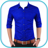 Man Formal Shirt Photo Suit Maker Icon