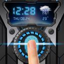 wheelgear fingerprint style lock screen for prank