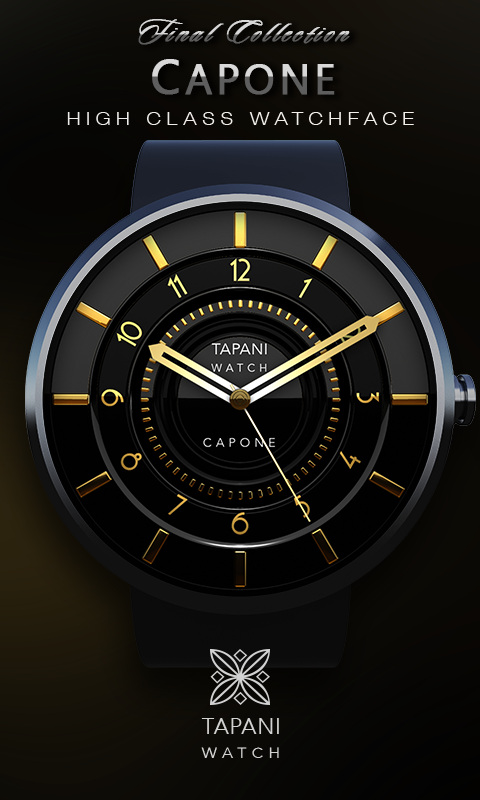 Capone weather wear watch face screenshot 2