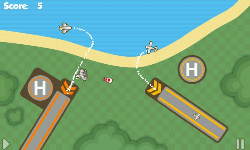 Airplane control games online