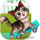 My Fluffy Kitty: Talking Pet DayCare Game For Kids